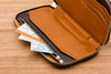 Bellroy Carry Out wallet in caramel