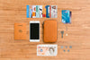 Bellroy 'Phone Pocket Plus' phone case wallet in caramel