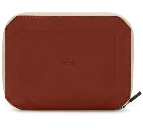 Bellroy 'Elements Travel' water resistant wallet in cognac
