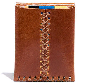 Billykirk 'Card case' card holder in tan