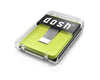 Dosh 'Blade Wasabi' card holder