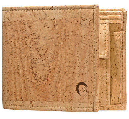 Picture of Corkor 'Light Cork' wallet with coin pocket