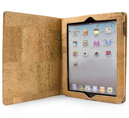 Picture of Corkor cork ipad case in light cork