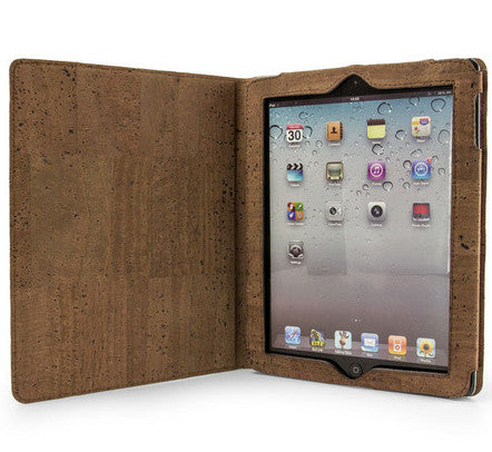Picture of Corkor cork ipad case in dark cork