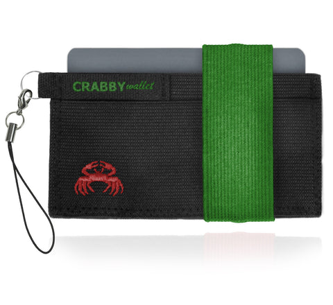 Picture of Crabby Wallet V2 in green