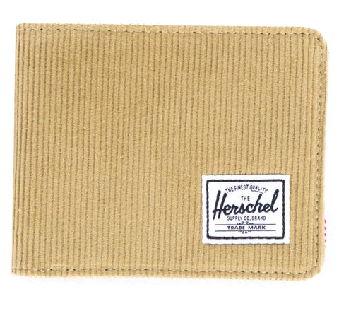 Picture of Herschel wallet 'Hank' in khaki corduroy