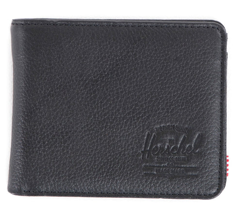 Herschel 'Hank Coin Leather' in black