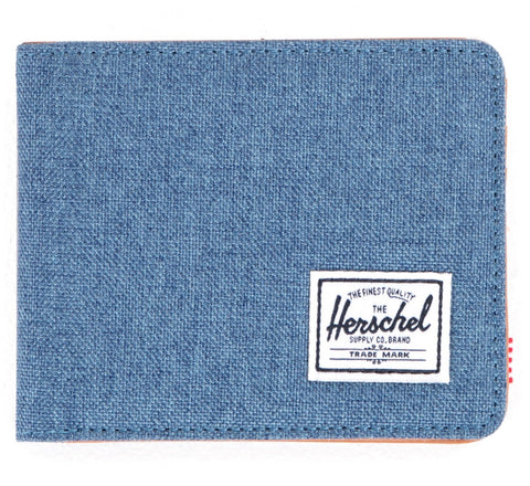 Picture of Herschel wallet 'Hank' crosshatch in navy