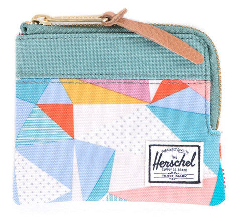Picture of Herschel wallet 'Johnny' in quilt / seafoam