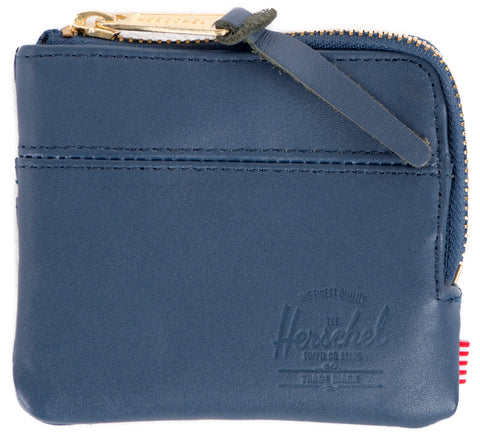 Picture of Herschel wallet 'Johnny Leather' in navy