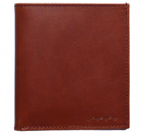Picture of Berg & Berg suede lined wallet in toffee