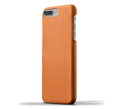 Mujjo iPhone 7 Plus / 8 Plus case in tan