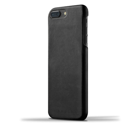 Mujjo iPhone 7 Plus / iPhone 8 Plus case in black