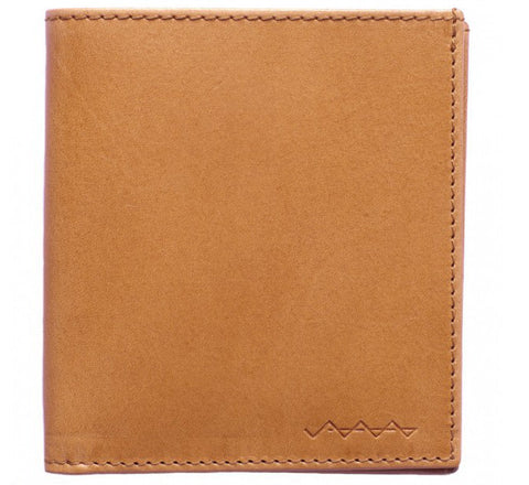 Picture of Berg & Berg suede lined wallet in Natural