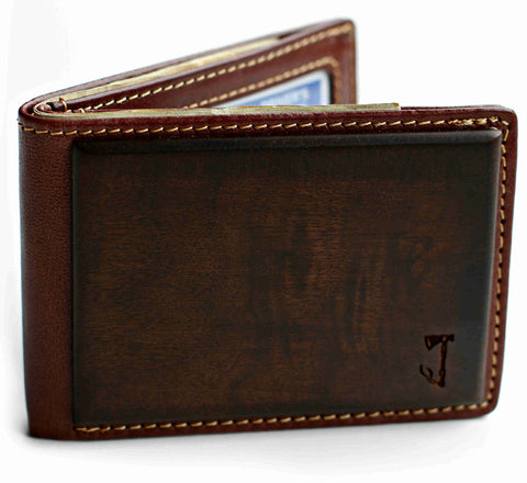 Slim Timber 'Walnut Wood Bifold' wallet