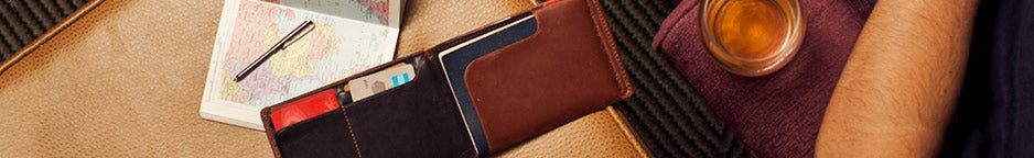 all travel wallets and passport holders from Lombres.com