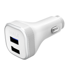 iwalk power dolphin plus white car charging adapter