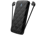iwalk power duo 2.0 black portable battery power charger