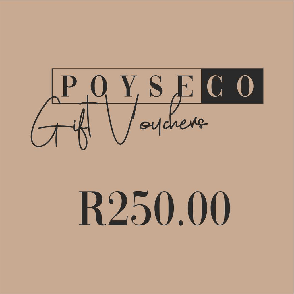 POYSE Co Gift Voucher