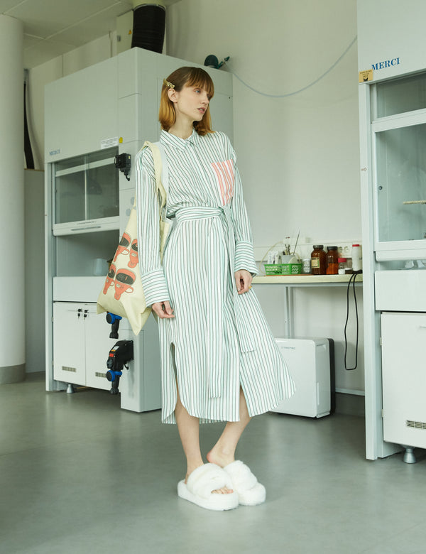 MARIBEL STRIPED DRESS