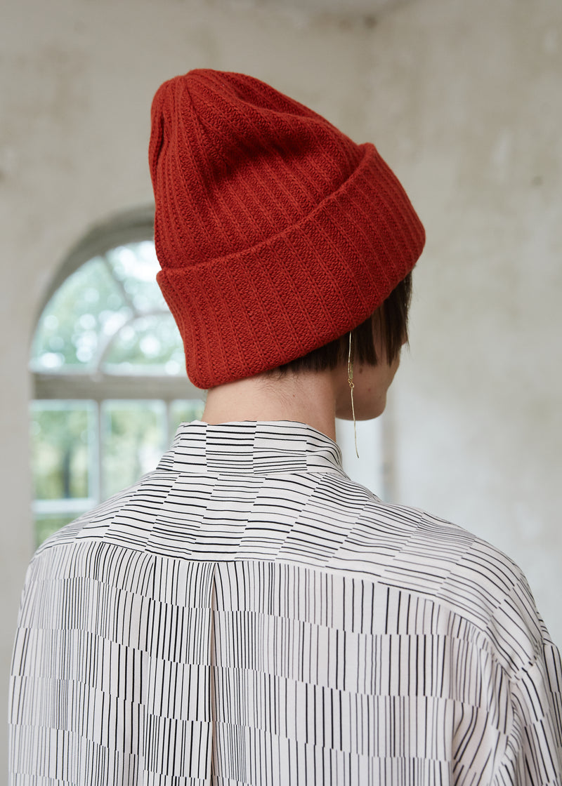 WOOLEN CAP ORANGE