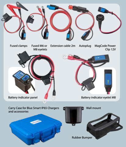 Optional accessories Victron Blue Smart IP65 Charger