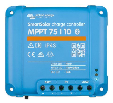 Victron SmartSolar MPPT 75/10 or 15
