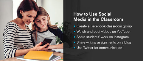 how to use social media in the classroom