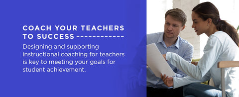 design and supporting coaching for your teachers
