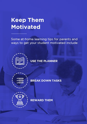 How to keep students motivated with planners.