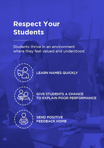 Tips for respecting your students.