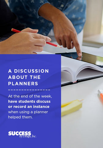 A discussion about the planners.