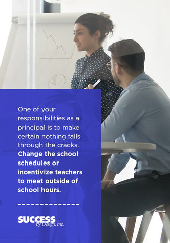 your administrator responsibilities include changing schedules