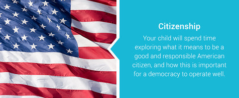 learning about what it means to be an American citizen