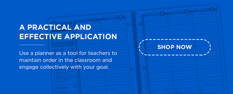 use a planner for teachers to maintain order