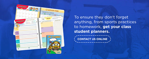 choose new planners for your students