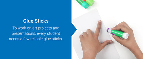 glue sticks for art projects