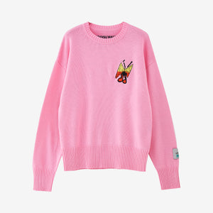 LIAM HODGES BUTTERFLY KNIT JUMPER - Trendy Maker