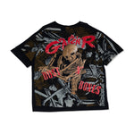 将图片加载到图库查看器,【VINTAGE】GUNS N ROSES DUSTY BONES 1992 DOUBLE PRINT TEE SHIRT - Trendy Maker
