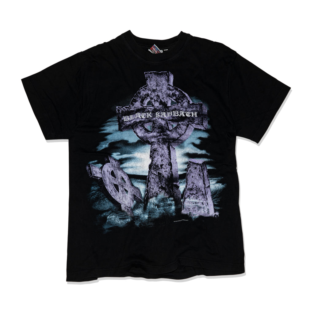 【Vintage】BLACK SABBATH HEADLESS CROSS TEE SHIRT 2005 - Trendy Maker