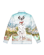 Load image into Gallery viewer, Dalmatien a La Montagne Silk Shirt - Trendy Maker