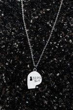 Load image into Gallery viewer, THE REAL BUY X WWW. WILL SHOTT STERLING SILVER SKULL NECKLACE - Trendy Maker