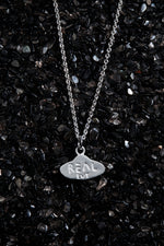 Load image into Gallery viewer, THE REAL BUY X WWW. WILL SHOTT STERLING SILVER UFO NECKLACE - Trendy Maker