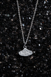 THE REAL BUY X WWW. WILL SHOTT STERLING SILVER UFO NECKLACE - Trendy Maker