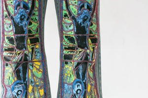 STAINED GLASS DENIM - Trendy Maker