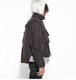 将图片加载到图库查看器,BLANKETED PUFFER COAT - Trendy Maker