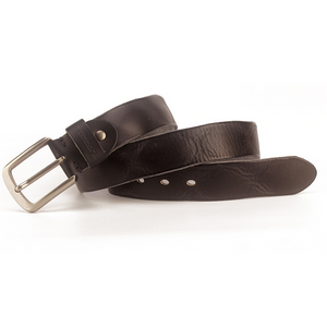 Men's Hand-Washed Vegetable Tanned Suede Leather Belt