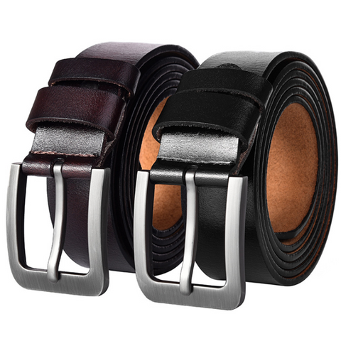 Men's Fashion Leather Pin Buckle Belt