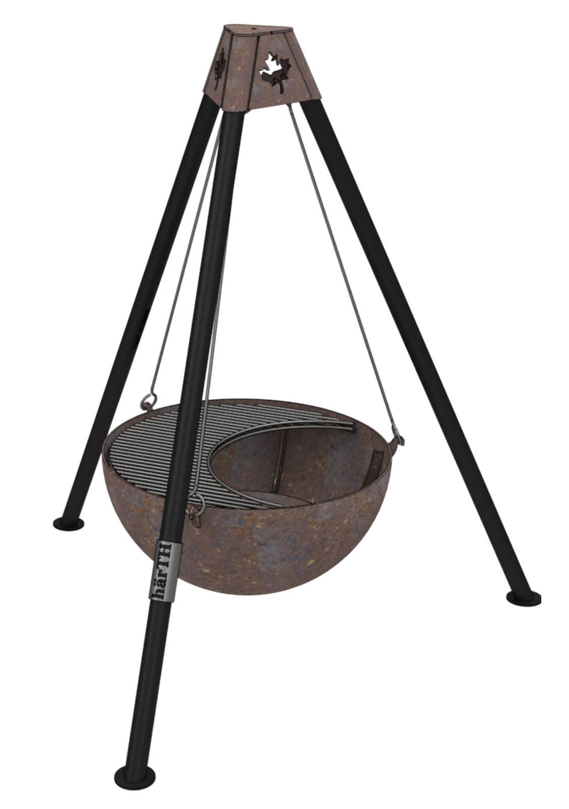 Suspended Fire Pit