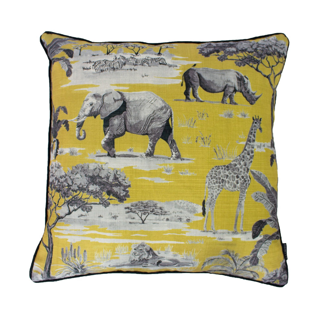 Safari Ochre Cushion
